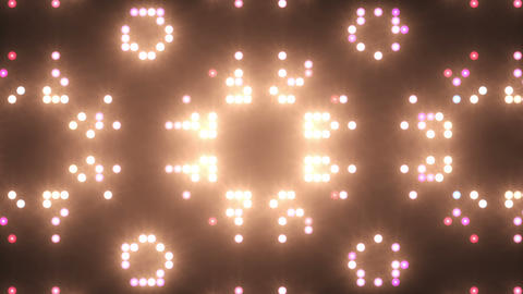 Disco Wall SN B 7f HD Stock Video Footage