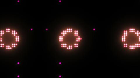 Disco Wall SN B 8f HD Stock Video Footage