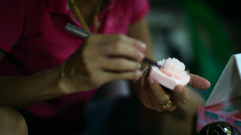 Decorative flower soap Stock Video Footage