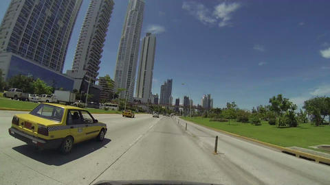 Panama City, Panama - June 2: Stunning view of the Stock Video Footage