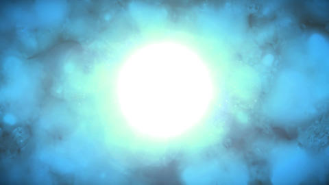 Bright Blue Stock Video Footage
