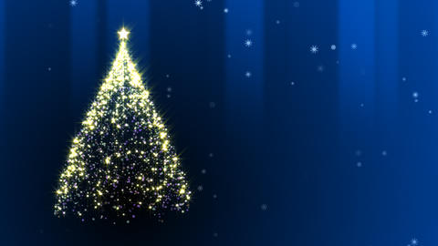 Chiristmas Tree Stock Video Footage