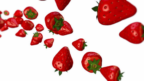 Strawberry Stock Video Footage