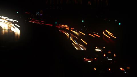 City Lights Speedy Stock Video Footage