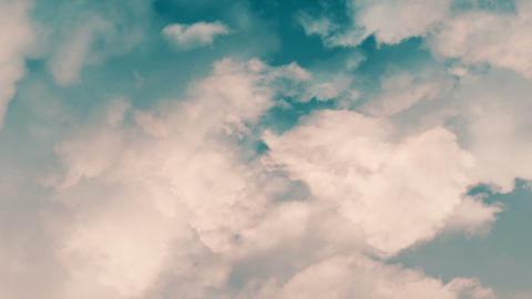 Cloudy Loop 2 Stock Video Footage