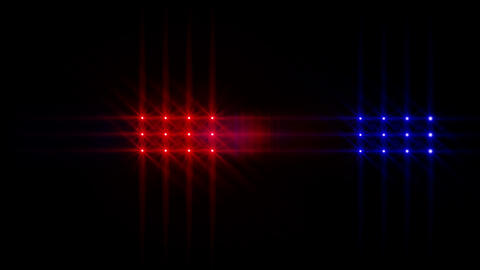 Cop Lights 2 Stock Video Footage
