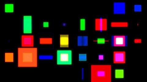 Discosquares1 Stock Video Footage
