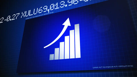 Finance Bar Stock Video Footage