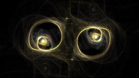 Mole's Eye Nebula Animation