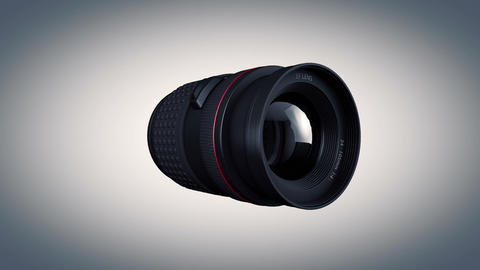 Lens Side View Animation