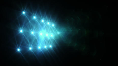 Lights Blue stock footage