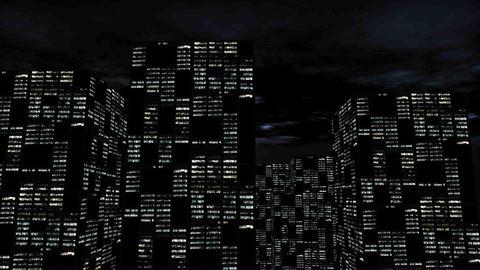 Nightlife City Stock Video Footage