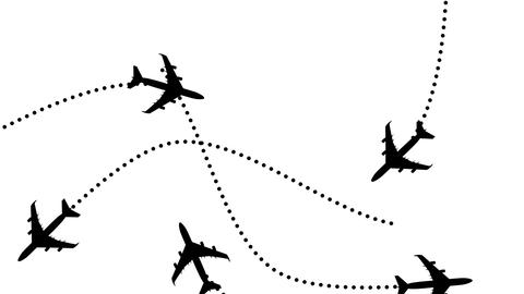 Plane White Stock Video Footage