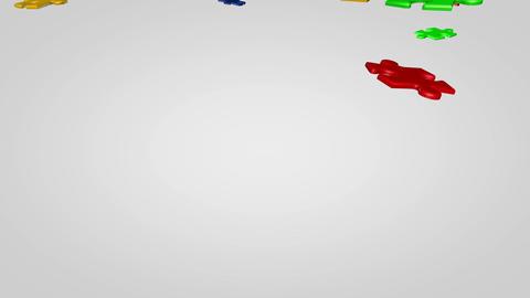 PuzzleZeminedusus HD Stock Video Footage