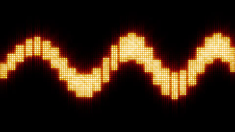 SinWaveForm2 HD Stock Video Footage