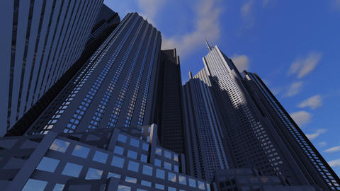 Timelapse City Stock Video Footage
