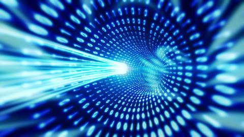 Data Tunnel Stock Video Footage