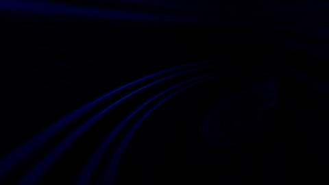 Tunnel Only Blue Stock Video Footage