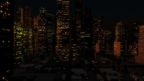 Cityflight Stock Video Footage