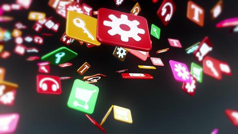 IconLoopsBlack HD Stock Video Footage