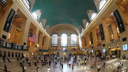 Grand Central Station Time Lapse Stock Video Footage