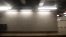 Subway Passenger View Stock Video Footage