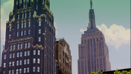 New York Skyline Time Lapse Stock Video Footage
