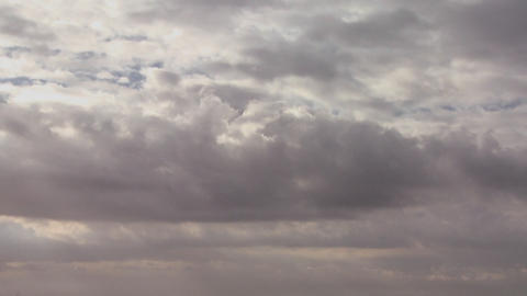Very nice footage of many layers of clouds moving  Footage