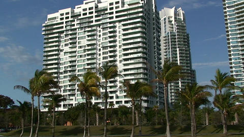 A condominium in Miami Footage