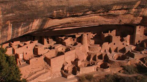American Indian dwellings at Mesa Verde National P Footage