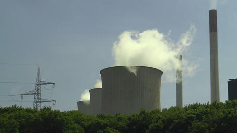 coolingtower Stock Video Footage