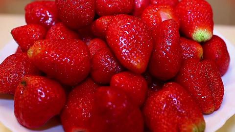 strawberries Stock Video Footage