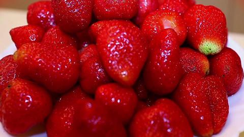 strawberries Stock Video Footage