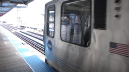 Chicago L train Stock Video Footage