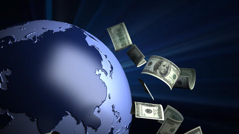 Global Business Stock Video Footage