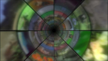 Video Clips Tunnel Vortex 24P Stock Video Footage