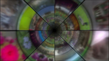 Video Clips Tunnel Vortex 24P Animation