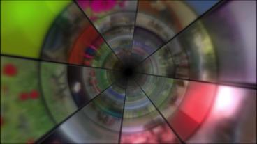 Video Clips Tunnel Vortex 30P Stock Video Footage