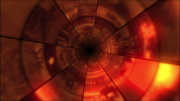 Video Clips Tunnel Vortex Cycle Colors 25P Stock Video Footage