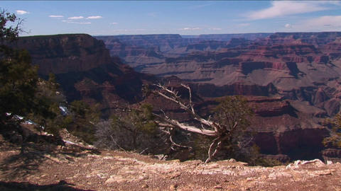 Grand Canyon National Park in Arizona Stock Video Footage