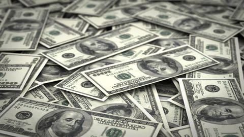Stack of Money Stock Video Footage