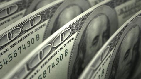Dollar Close-up Stock Video Footage
