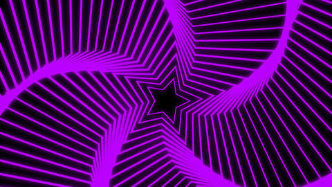 Star Radiation colorful Stock Video Footage