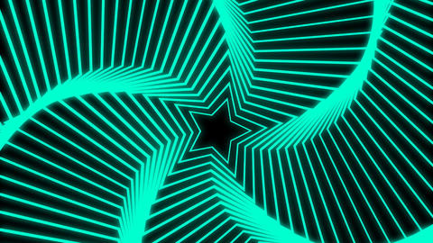 Star Radiation colorful Animation