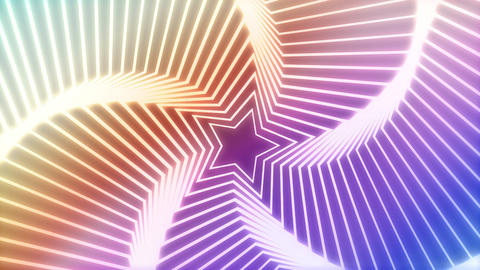 Star Radiation colorful background 2 Animation