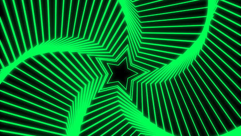 Star Radiation green Stock Video Footage