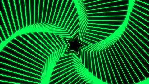 Star Radiation green Stock Video Footage