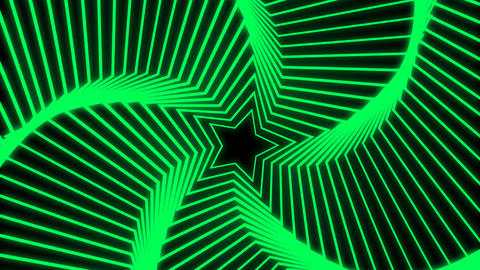 Star Radiation green Animation