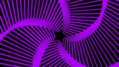 Star Radiation purple Animation