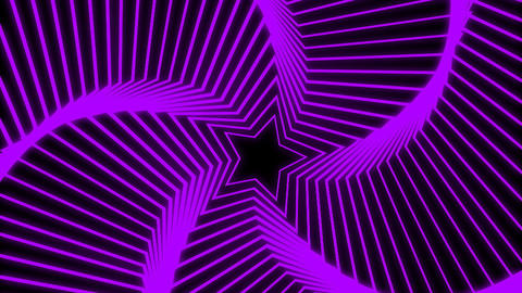Star Radiation purple Stock Video Footage